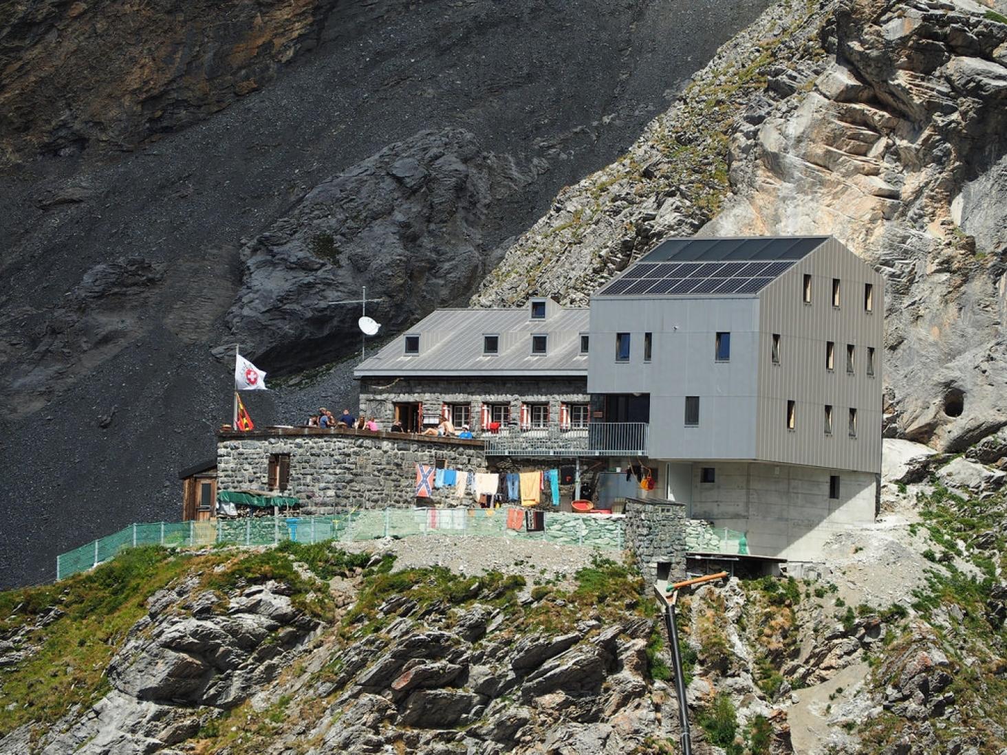 SAC Gspaltenhornhütte